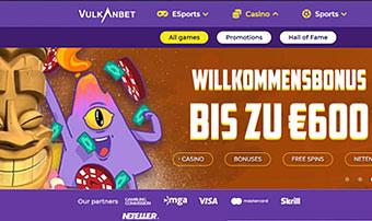 VulkanBet – Alles, Was Das Spielerherz Begehrt!